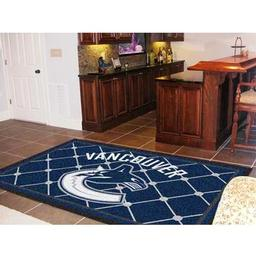Click here to learn more about the Vancouver Canucks Rug 5''x8''.