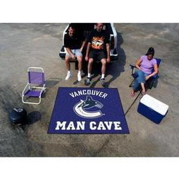 Click here to learn more about the Vancouver Canucks Man Cave Tailgater Rug 5''x6''.