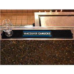 "Click here to learn more about the Vancouver Canucks Drink Mat 3.25""x24""."