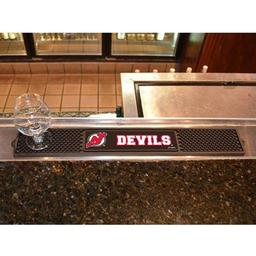"Click here to learn more about the New Jersey Devils Drink Mat 3.25""x24""."