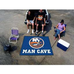 Click here to learn more about the New York Islanders Man Cave Tailgater Rug 5''x6''.