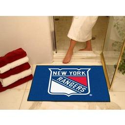 "Click here to learn more about the New York Rangers All-Star Mat 33.75""x42.5""."