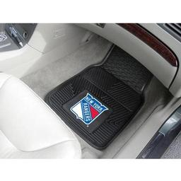 Click here to learn more about the New York Rangers 2-pc Vinyl Car Mat Set.