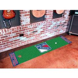 Click here to learn more about the New York Rangers Putting Green Mat.