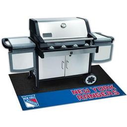 "Click here to learn more about the New York Rangers Grill Mat 26""x42""."