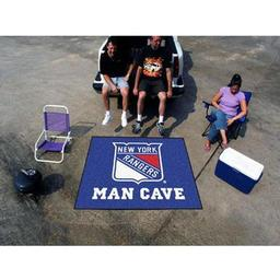 Click here to learn more about the New York Rangers Man Cave Tailgater Rug 5''x6''.