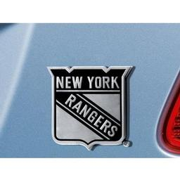 "Click here to learn more about the New York Rangers Emblem 3""x3.2""."