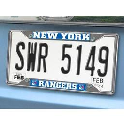 "Click here to learn more about the New York Rangers License Plate Frame 6.25""x12.25""."