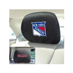 "Click here to learn more about the New York Rangers Head Rest Cover 10""x13""."