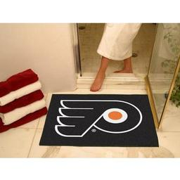 "Click here to learn more about the Philadelphia Flyers All-Star Mat 33.75""x42.5""."
