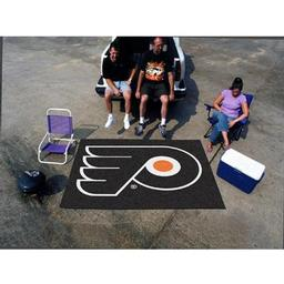 Click here to learn more about the Philadelphia Flyers Tailgater Rug 5''x6''.