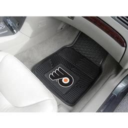 Click here to learn more about the Philadelphia Flyers 2-pc Vinyl Car Mat Set.