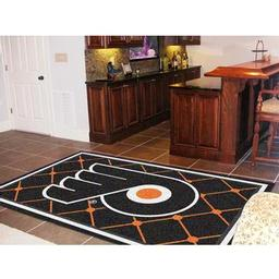 Click here to learn more about the Philadelphia Flyers Rug 5''x8''.