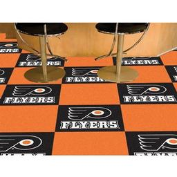 Click here to learn more about the Philadelphia Flyers Team Carpet Tiles.