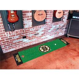 Click here to learn more about the Boston Bruins Putting Green Mat.