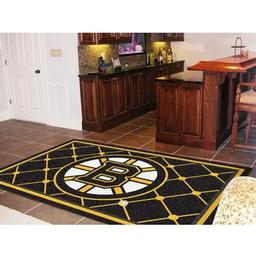 Click here to learn more about the Boston Bruins Rug 5''x8''.