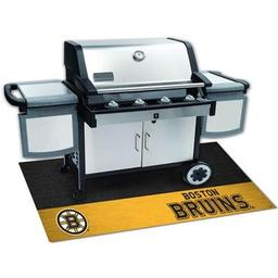"Click here to learn more about the Boston Bruins Grill Mat 26""x42""."