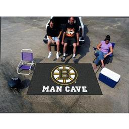 Click here to learn more about the Boston Bruins Man Cave UltiMat Rug 5''x8''.