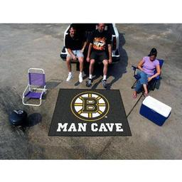 Click here to learn more about the Boston Bruins Man Cave Tailgater Rug 5''x6''.