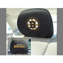 "Click here to learn more about the Boston Bruins Head Rest Cover 10""x13""."