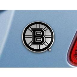 "Click here to learn more about the Boston Bruins Emblem 3""x3""."