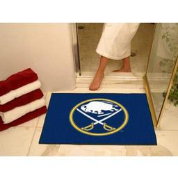 "Click here to learn more about the Buffalo Sabres All-Star Mat 33.75""x42.5""."