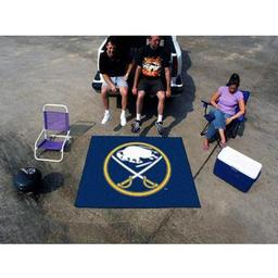 Click here to learn more about the Buffalo Sabres Tailgater Rug 5''x6''.
