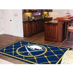 Click here to learn more about the Buffalo Sabres Rug 5''x8''.