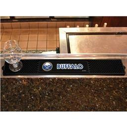 "Click here to learn more about the Buffalo Sabres Drink Mat 3.25""x24""."