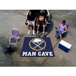 Click here to learn more about the Buffalo Sabres Man Cave Tailgater Rug 5''x6''.