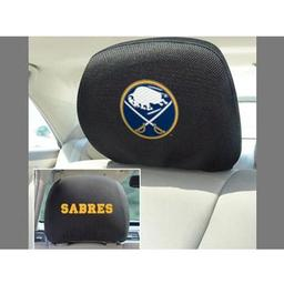 "Click here to learn more about the Buffalo Sabres Head Rest Cover 10""x13""."
