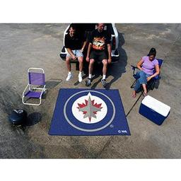 Click here to learn more about the Winnipeg Jets Tailgater Rug 5''x6''.