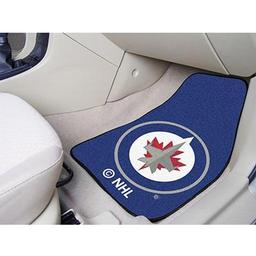 Click here to learn more about the Winnipeg Jets 2-pc Printed Carpet Car Mat Set.