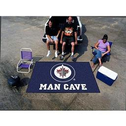 Click here to learn more about the Winnipeg Jets Man Cave UltiMat Rug 5''x8''.