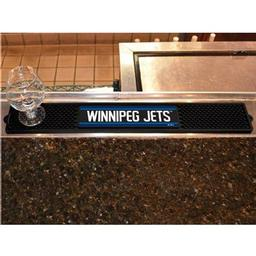 "Click here to learn more about the Winnipeg Jets Drink Mat 3.25""x24""."