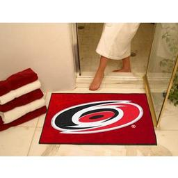 "Click here to learn more about the Carolina Hurricanes All-Star Mat 33.75""x42.5""."