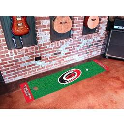 Click here to learn more about the Carolina Hurricanes Putting Green Mat.