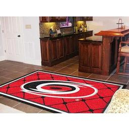 Click here to learn more about the Carolina Hurricanes Rug 5''x8''.