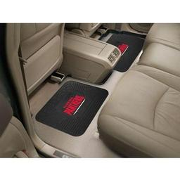 "Click here to learn more about the Florida Panthers Backseat Utility Mats 2 Pack 14""x17""."