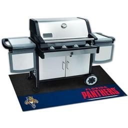 "Click here to learn more about the Florida Panthers Grill Mat 26""x42""."