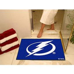 "Click here to learn more about the Tampa Bay Lightning All-Star Mat 33.75""x42.5""."