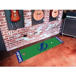 Click here to learn more about the Tampa Bay Lightning Putting Green Mat.