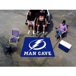 Click here to learn more about the Tampa Bay Lightning Man Cave UltiMat Rug 5''x8''.