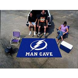 Click here to learn more about the Tampa Bay Lightning Man Cave Tailgater Rug 5''x6''.