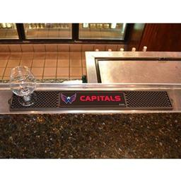 "Click here to learn more about the Washington Capitals Drink Mat 3.25""x24""."
