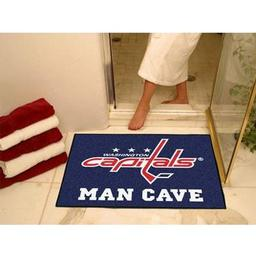 "Click here to learn more about the Washington Capitals Man Cave All-Star Mat 33.75""x42.5""."