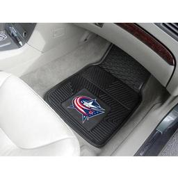 Click here to learn more about the Columbus Blue Jackets 2-pc Vinyl Car Mat Set.