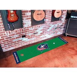 Click here to learn more about the Columbus Blue Jackets Putting Green Mat.
