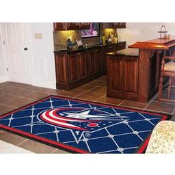 Click here to learn more about the Columbus Blue Jackets Rug 5''x8''.