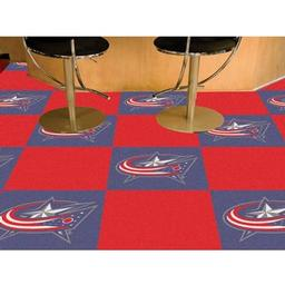 Click here to learn more about the Columbus Blue Jackets Team Carpet Tiles.